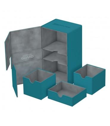 Caja Premium 200+ Azul turquesa